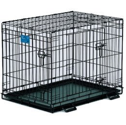 Midwest Life Stages Collapsible Metal Dog Crate
