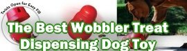The Best Wobbler Treat Dispensing Dog Toy